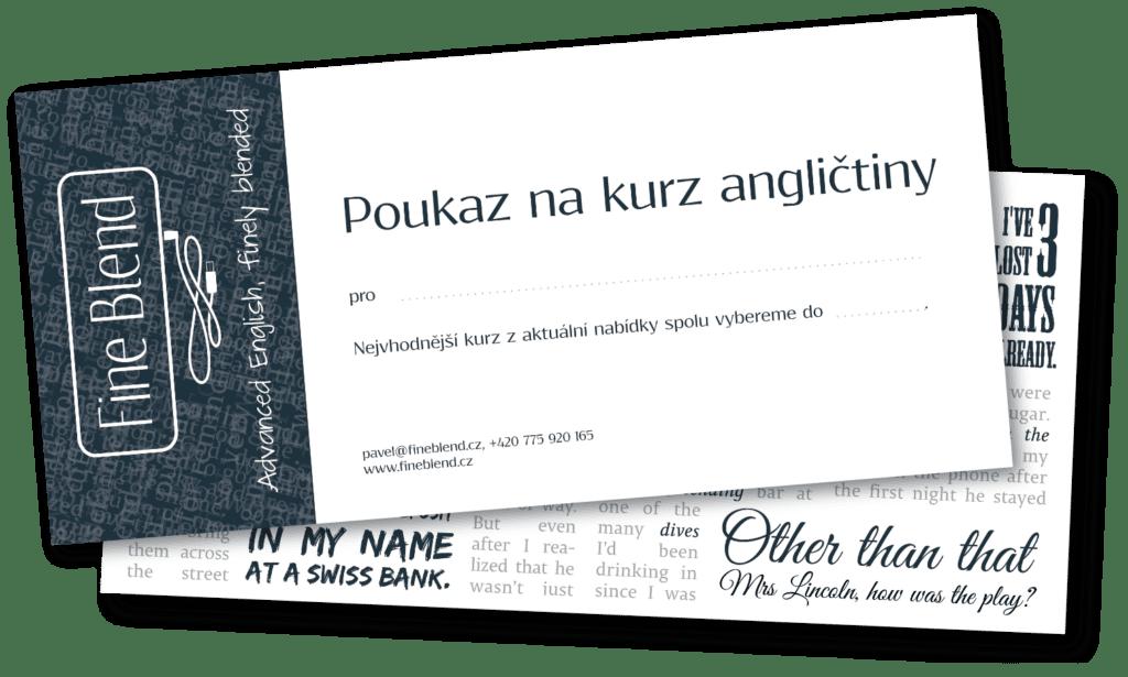 Fineblend gift certificate